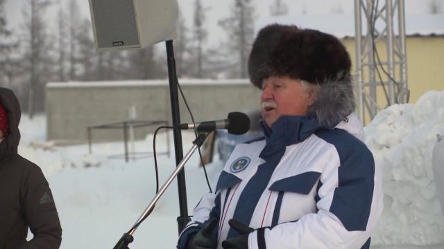 ВНовом Уренгое разыграли Кубок покроссу наснегоходах посвящённый памяти Андрея Ушакова