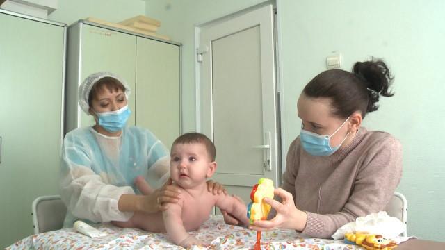 Педиатрическое отделение вернулось вкорпус, который ранее был переоборудован под ковид госпиталь