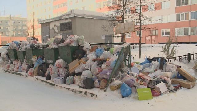 Новоуренгойцы жалуются накрупногабаритный мусор водворах