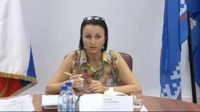 Состоялось рабочее заседание членов территориальной избирательной комиссии.