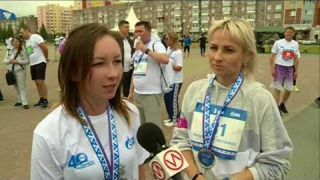 Активные новоуренгойцы приняли участие в«Ямальском марафоне».