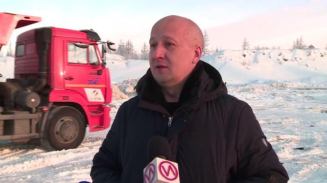 Снегоуборочная техника вНовом Уренгое работает вполную силу
