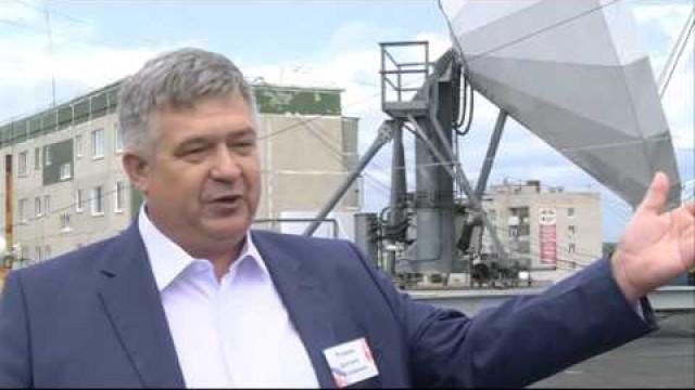 Специалисты ПАО «Ростелеком» представили единственную наУрале земную станцию спутниковой связи.