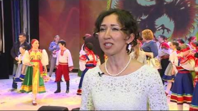 Вгородском дворце культуры «Октябрь» состоялся отчётный концерт ансамбля танца «Сияние».