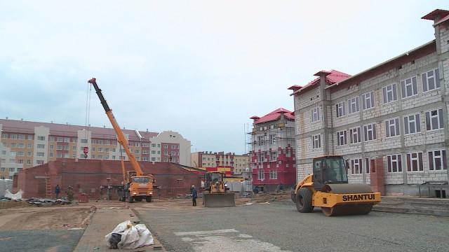 Тюменские строители намерены сдать детсад вмикрорайоне Строителей 31декабря