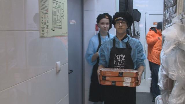 Учащиеся корпоративного «Импульс-класса» познакомились спрофессией пиццайолы