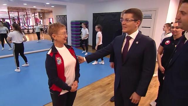 Губернатор Ямала принял участие воткрытии нового центра единоборств вСалехарде