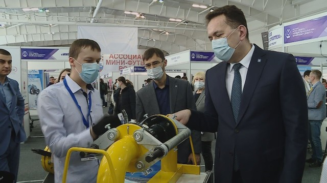 Межрегиональная выставка объединила газодобытчиков ипроизводственников совсей России