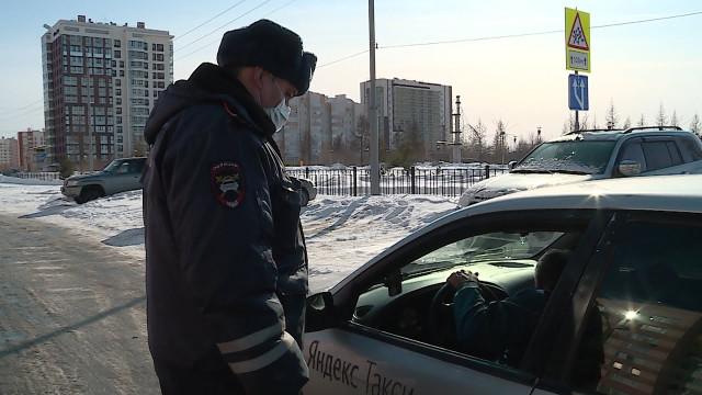 ВНовом Уренгое проводится профилактическая операция «Такси»