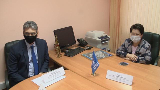 Заместитель председателя Законодательного Собрания ЯНАО Наталия Фиголь посетила Новый Уренгой