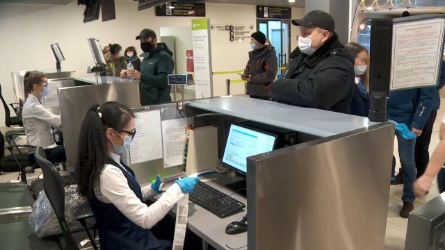 Специалисты новоуренгойского аэропорта рассказали обэлектронных системах регистрации