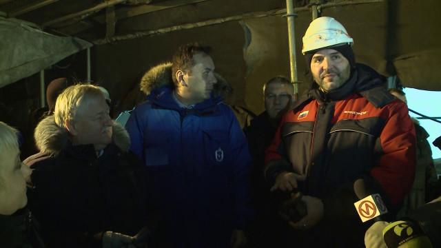 Заместитель Губернатора ЯНАО Андрей Воронов оценил темпы возведения жилья исоциальных объектов вНовом Уренгое