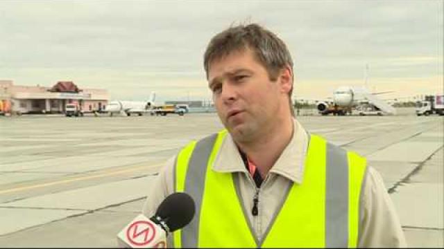 Пассажиропоток аэропорта Нового Уренгоя составляет около 900 тысяч человек вгод