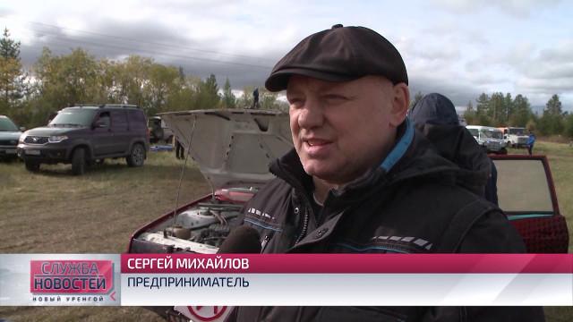 Новоуренгоец Александр Савченко стал победителем Кубка главы надымского р-на поавтокроссу