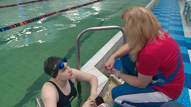 Новоуренгойская спортсменка Анастасия Коротченко готовится к Первенству России по плаванию