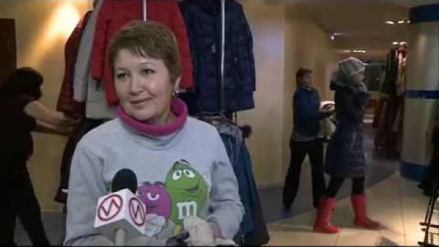 Вделовом центре «Ямал» открылась ярмарка верхней одежды.