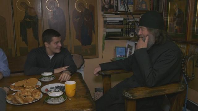 Губернатор Ямала Дмитрий Артюхов встретился совсемирно известным путешественником Фёдором Конюховым