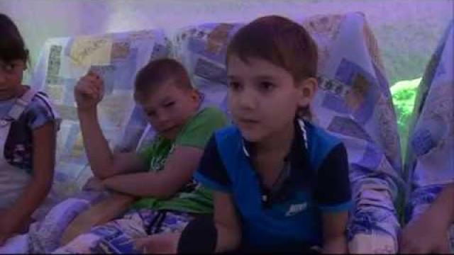 Воспитанники детского пришкольного лагеря проходят курс восстановления.