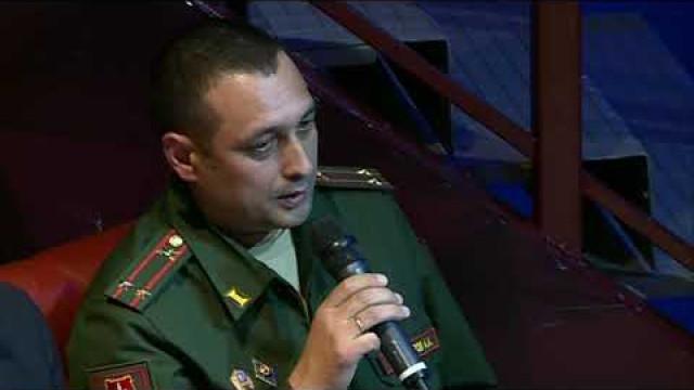 Призывники иихродители встретились спредставителями военного комиссариата.