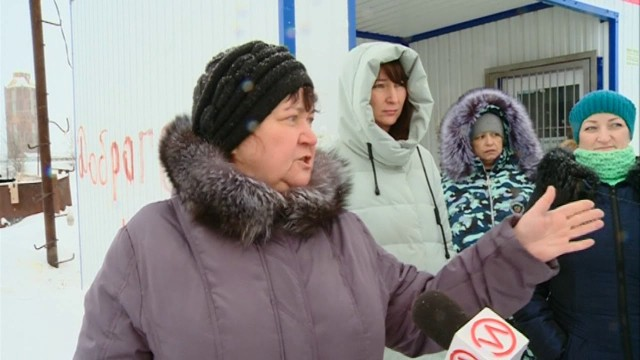 Водители грузового транспорта не хотят идти на диалог с жителями Коротчаево