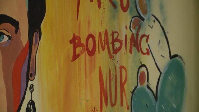 ВНовом Уренгое проходит фестиваль свободных художников «Art-bombing»