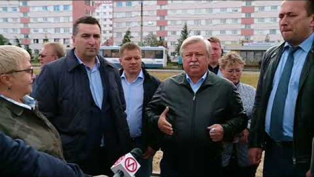 Глава города Иван Костогриз оценил темпы благоустройства Нового Уренгоя.