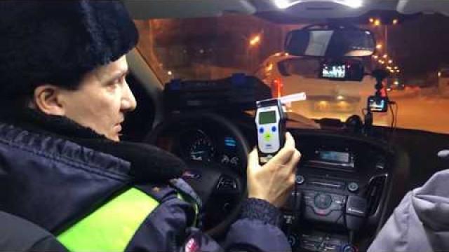За минувшие выходные госавтоинспекторы задержали 8 пьяных водителей
