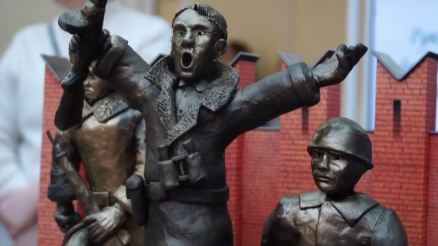 Новоуренгойские школьники создали макеты мемориалов славы