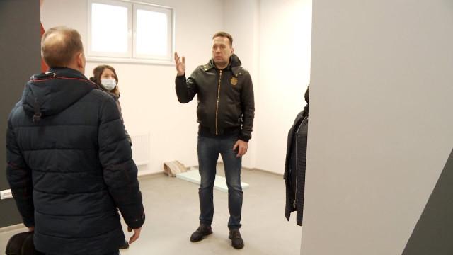 Андрей Воронов оценил ход ремонта помещений, вкоторые переедут военно-патриотические центры