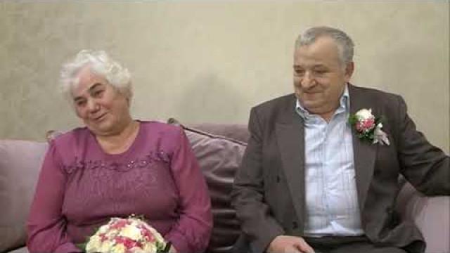 Супруги Ягонченко отметили 50лет совместной жизни.