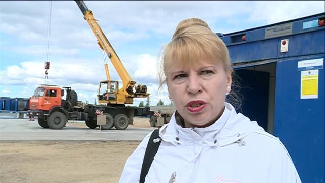 Заместитель губернатора ЯНАО Андрей Воронов проверил строящиеся объекты