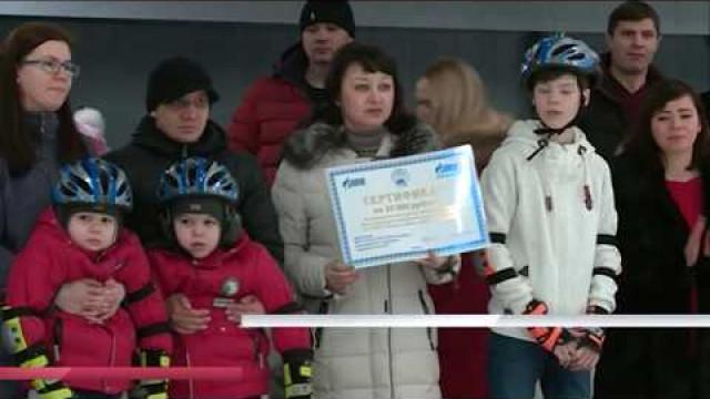 Сотрудники ООО «Газпром добыча Уренгой» подарили праздник особенным детям.