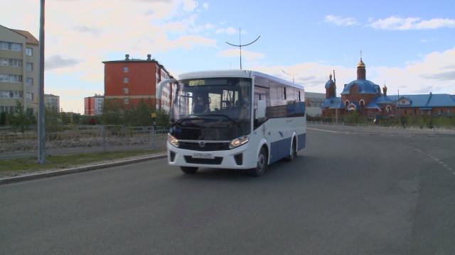 Врайоне Коротчаево налинию вышли новые автобусы