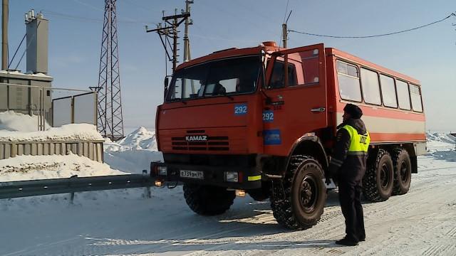 Госавтоинспекторы провели очередной рейд «Безопасные перевозки»