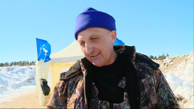 Врайоне Лимбяяха состоялись соревнования поподледному лову.