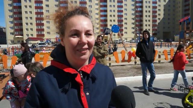Жители микрорайона Энтузиастов отметили День соседей