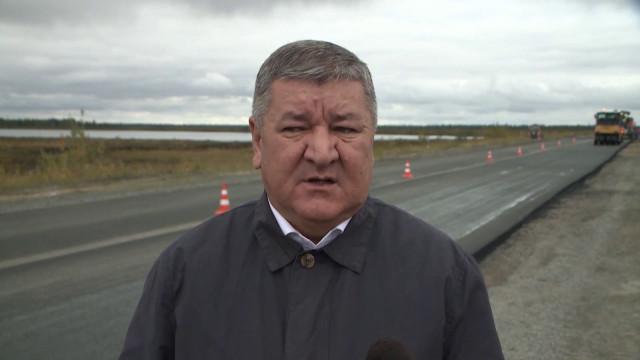Специалисты АО «Ямалавтодор» продолжают ремонт участка трассы Новый Уренгой – ст. Ныда