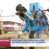 Представители региональных СМИ высадили деревья впосёлке Ямбург.