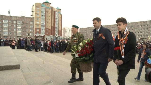 Новоуренгойцы отметили праздник Великой Победы
