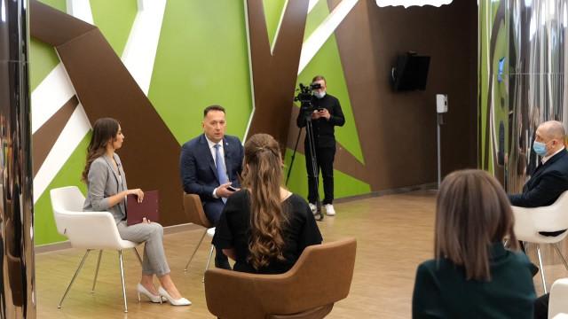 Глава города Андрей Воронов подвёл итоги уходящего года