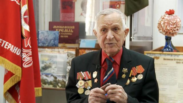 Ветерану Великой Отечественной войны Анатолию Алёшкину исполняется 90лет.