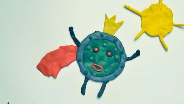 Новый вирус стал героем мультфильма, созданного наЯмале