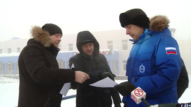 Андрей Воронов протестировал новоуренгойские горки