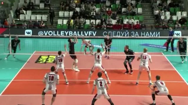 Чемпионат России поволейболу. Телеверсия.
